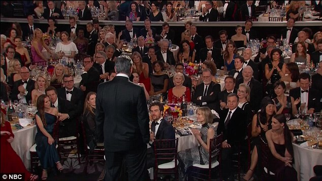 George Clooney at the Golden Globes January 2015 - Page 3 249D501A00000578-2906117-image-a-35_1421034398611