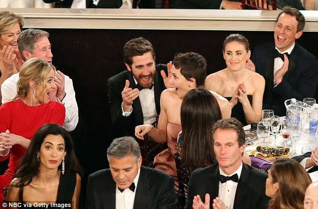 George Clooney at the Golden Globes January 2015 - Page 3 249F17A000000578-2906190-image-a-97_1421054671409