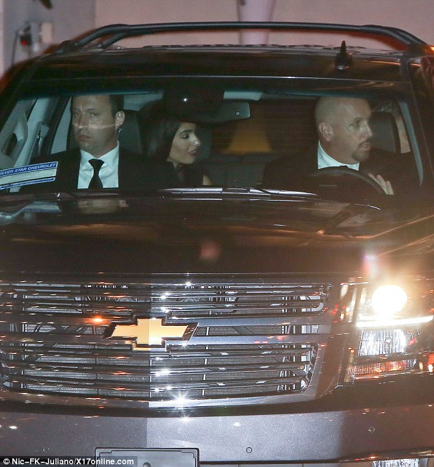 George and Amal Clooney head to dinner after their first Golden Globes appearance  24A61B2C00000578-2907500-image-m-17_1421107786863