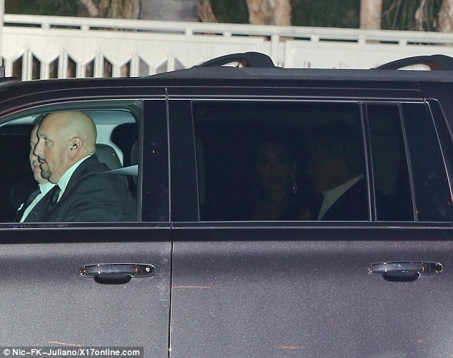 George and Amal Clooney head to dinner after their first Golden Globes appearance  24A61C1800000578-2907500-image-m-16_1421107740730