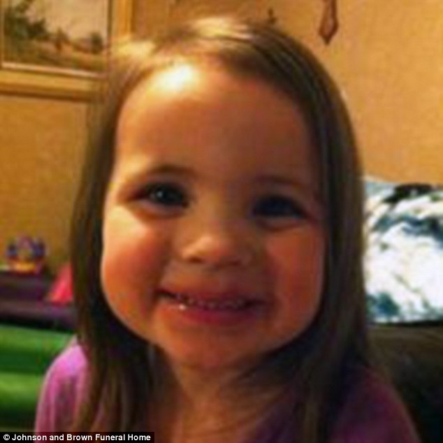 2-year old Rebecca Hopper 3-year old Alexis Mercer and Lydia Bishop 2597313A00000578-0-image-a-4_1423717636900