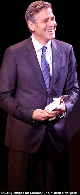 George Clooney at the SeriousFun Children's Network's Gala in New York City. 2642E82E00000578-2976714-image-a-100_1425347403513
