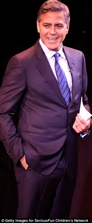 George Clooney at the SeriousFun Children's Network's Gala in New York City. 2642EA2600000578-2976714-image-m-99_1425347394570