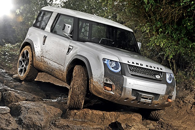 Discussion: What are everyone's thoughts of the new Defender concept that is floating around??  26FB348E00000578-0-image-a-14_1427327089953