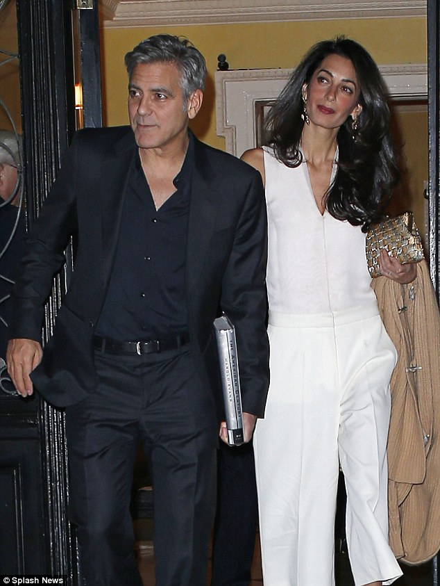 George Clooney & Amal seen in New York City on March 27 2710DDB800000578-3015690-image-a-2_1427525150669