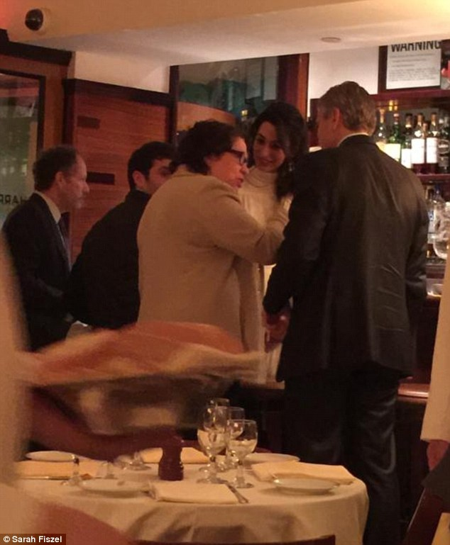 George Clooney & Amal Clooney Have Dinner With Supreme Court Justice Sonia Sotomayor April 8 2015 27635DB200000578-3031452-image-m-85_1428551936673
