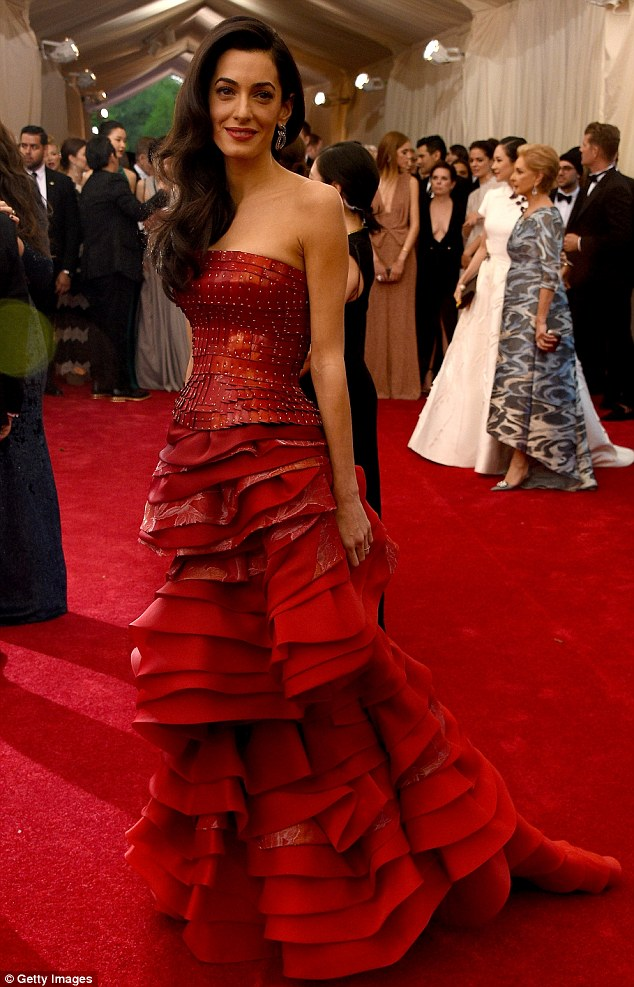 George Clooney at the Met Gala 4th May 2015 - Page 2 285034F200000578-3068128-image-m-62_1430784995250