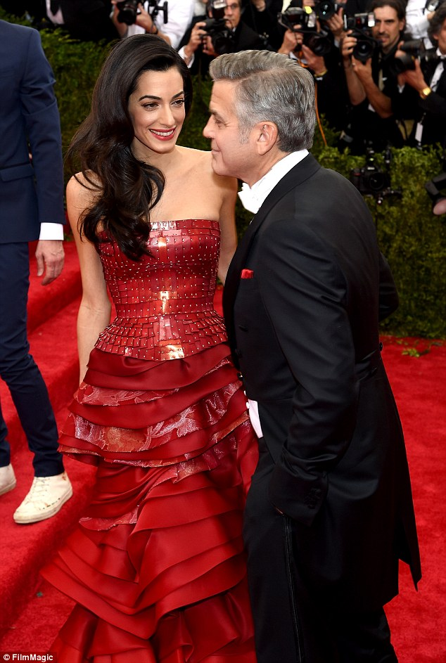 George Clooney at the Met Gala 4th May 2015 - Page 2 28503DF200000578-3068128-image-a-82_1430787308706