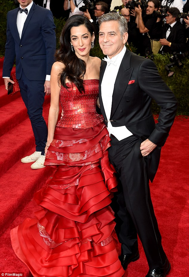 George Clooney at the Met Gala 4th May 2015 - Page 2 28503E0200000578-3068128-image-a-76_1430786844899