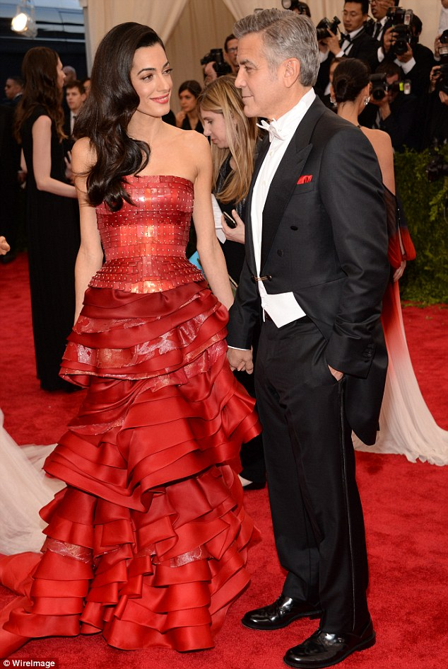 George Clooney at the Met Gala 4th May 2015 - Page 2 285040D000000578-3068128-image-m-80_1430787039874