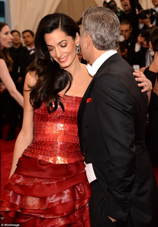 George Clooney at the Met Gala 4th May 2015 - Page 2 2850412600000578-3068128-image-m-79_1430786926855