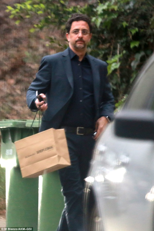 George Clooney dinner with his wife Amal at Japanese restaurant Asanebo in Studio City, California 7th May 2015 287828F000000578-0-image-a-63_1431109200065