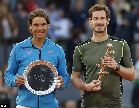 ¿Cuánto mide Andy Murray? - Altura - Real height 1431285418926_lc_galleryImage_Andy_Murray_of_Britain_ri