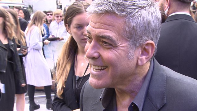 George Clooney at the Tomorrowland Premiere in London 17. May 2015 28CA9DC900000578-0-image-a-15_1431890638168