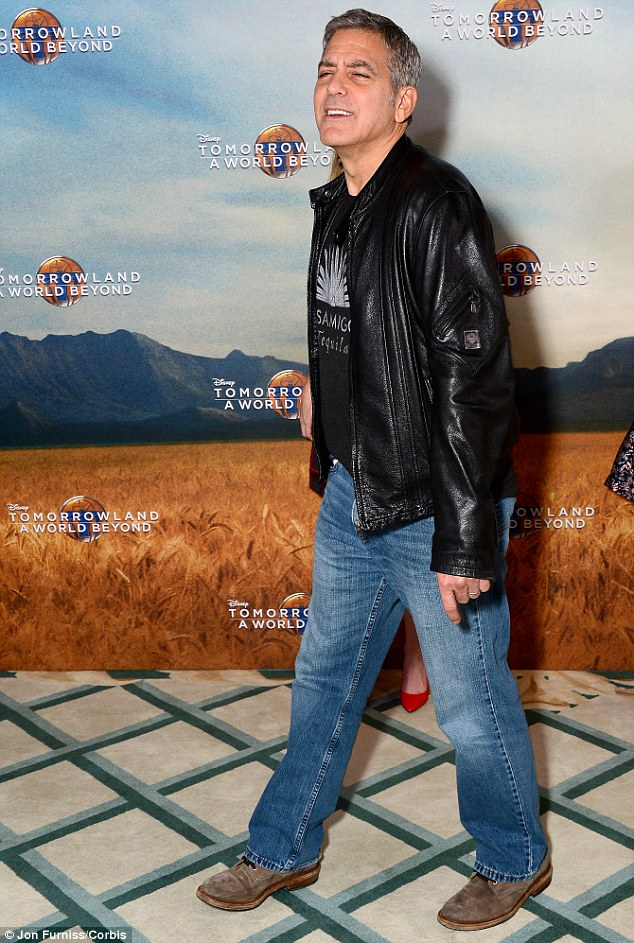 This morning's Tomorrowland Press Call in London May 18, 2015 28D2E28300000578-3086505-image-m-87_1431962047413