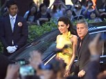 George and Amal play tennis - Second Round Video-undefined-2910BE9100000578-6_154x115