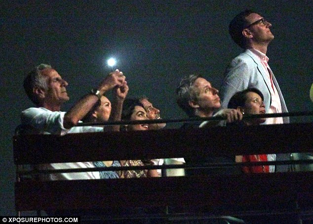 George Clooney & Amal in Como celebrating 4th of July with Julia Roberts 2A3D162D00000578-3149837-Short_break_Until_recently_George_and_Amal_were_separated_while_-a-79_1436077000593