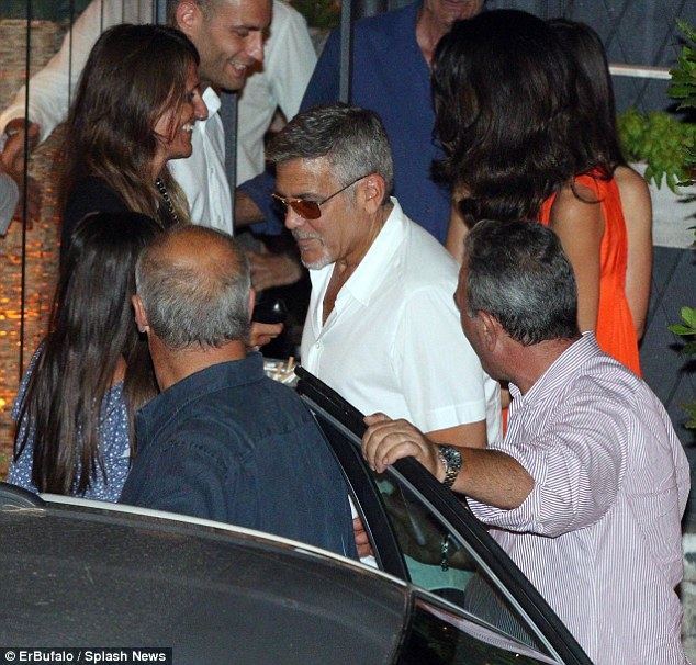George Clooney takes wife Amal for a night on the town 6th July 2015 2A42AF6000000578-0-image-m-27_1436145103488