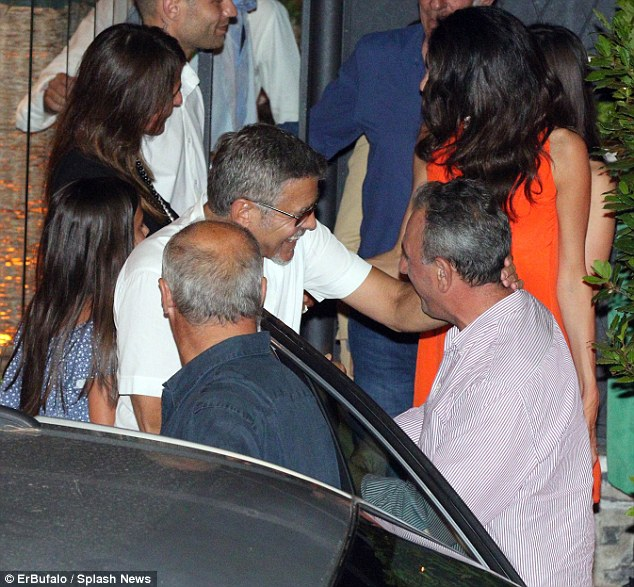 George Clooney takes wife Amal for a night on the town 6th July 2015 2A42AF6800000578-0-image-m-25_1436144974601