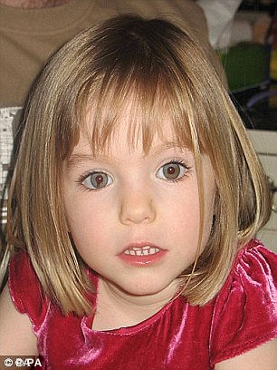 Madeleine 'alive' and living 'in plain sight' on the Algarve, sez 'expert' Dave Edgar (Sunday Express, 9 Apr 2017) 2B151D3900000578-0-Missing_Pictures_of_Madeleine_McCann_show_a_distinctive_smudge_i-a-3_1438676431568