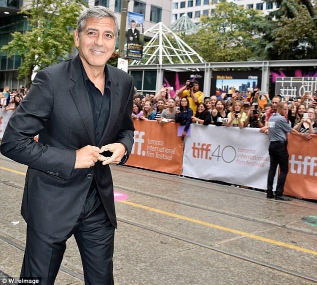 George Clooney at Toronto film festival 11th September 2015 2C33918700000578-3231561-image-m-57_1442018146351