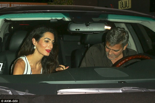 George Clooney & Amal Out For Sushi in Studio City(9-25-15?) 2CC729FF00000578-3249938-image-a-82_1443262304427