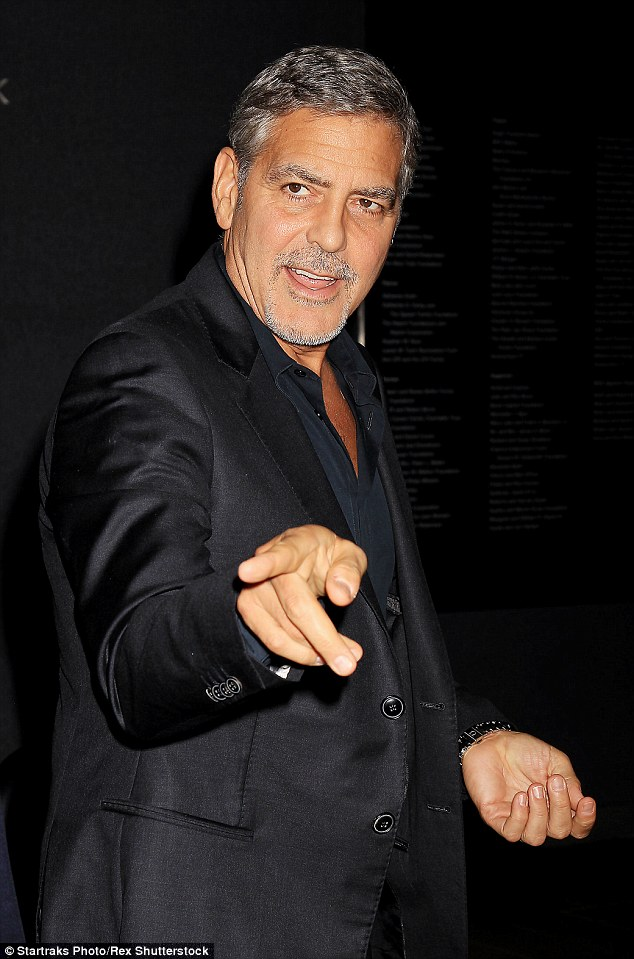 George Clooney at the New York Film Festival anniversary screening of O BROTHER, WHERE ART THOU 29th September 2015 2CEB6FF200000578-3254345-image-m-27_1443599471260