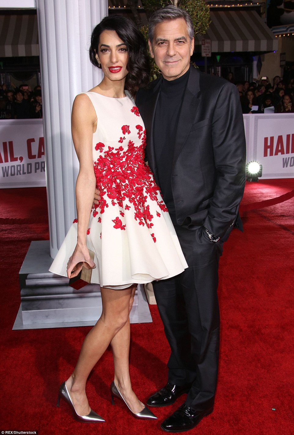 George Clooney and Amal Clooney at the Hail Caesar Premiere LA 30CBA64D00000578-3427580-I_heart_you_And_the_leggy_lawyer_did_her_best_to_look_every_inch-a-37_1454384957587