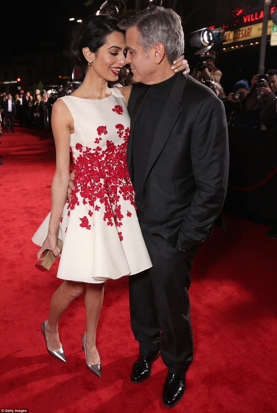 George Clooney and Amal Clooney at the Hail Caesar Premiere LA 30CBAE4700000578-3427580-Golden_couple_George_Clooney_looked_proud_as_he_brought_his_wife-m-74_1454386459007