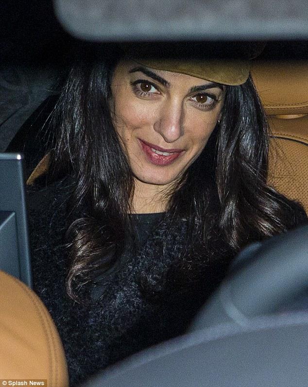 George Clooney & Amal arrive in Berlin 10.02.2016 310F76C200000578-0-image-m-62_1455128371641
