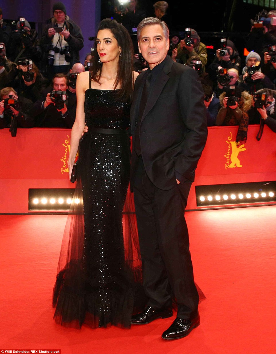George Clooney and Amal on the red carpet for Hail Caesar Berlin Film Fest premiere 311A08F900000578-0-image-m-56_1455217624128