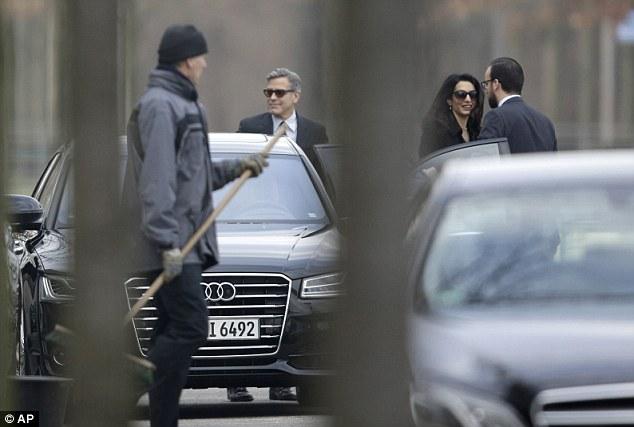 George Clooney to meet with Angela Merkel in Berlin 311EE51F00000578-3443821-image-a-13_1455275729191