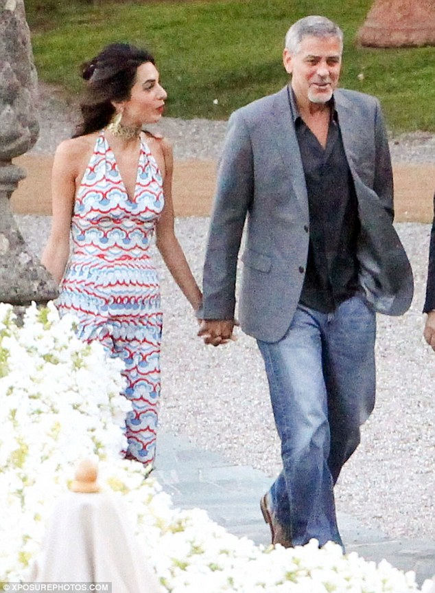 George and Amal at Villa d'Este 35F8260200000578-3675403-Dapper_gent_George_55_kept_it_casual_for_their_evening_at_the_5_-m-346_1467730385214
