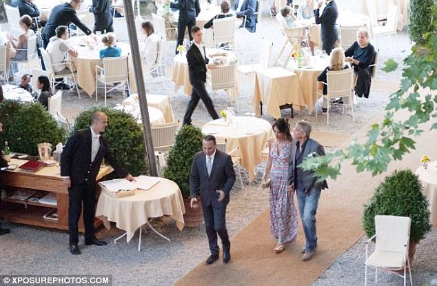 George and Amal at Villa d'Este 35F826CC00000578-3675403-image-a-4_1467731119422