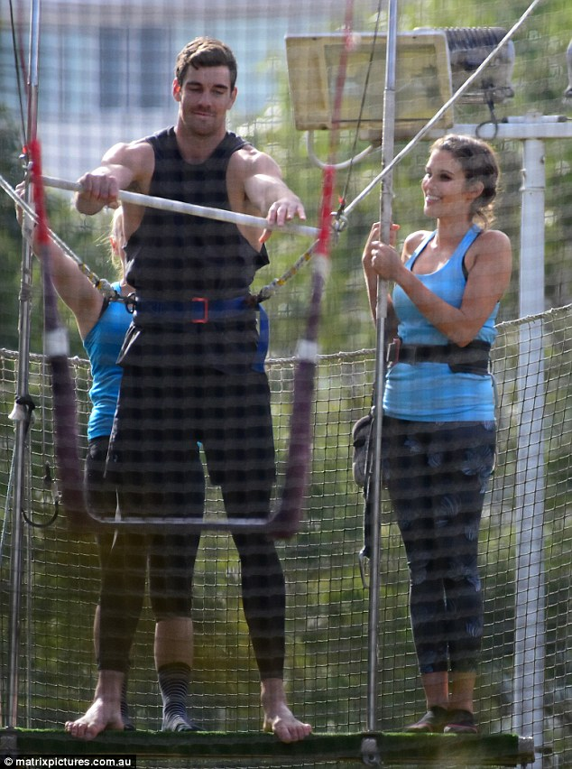 Cameron Cranley - Bachelorette Australia - Season 2 - Fan Forum 3659EDB700000578-3694861-Showing_him_the_ropes_-m-49_1468801230851