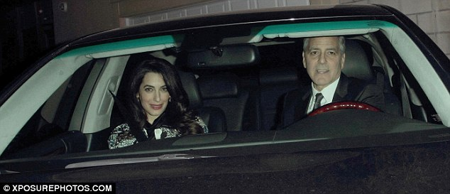 George and Amal at Craig's  3C9E445900000578-4168510-image-a-14_1485679937826