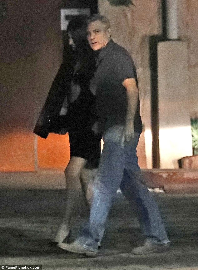 George and Amal Clooney at dinner in Spain 3CC7650900000578-4186994-Chow_time_The_husband_and_wife_of_two_years_were_headed_to_meet_-a-29_1486102774699
