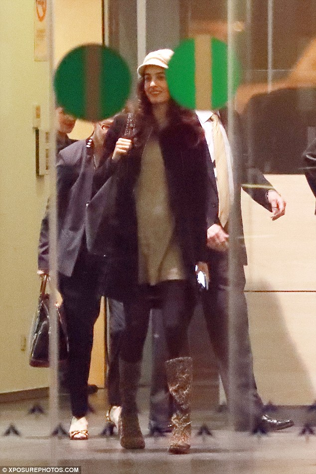 George and Amal Clooney leave Spain 3CCD59CC00000578-4188588-image-a-12_1486133441265