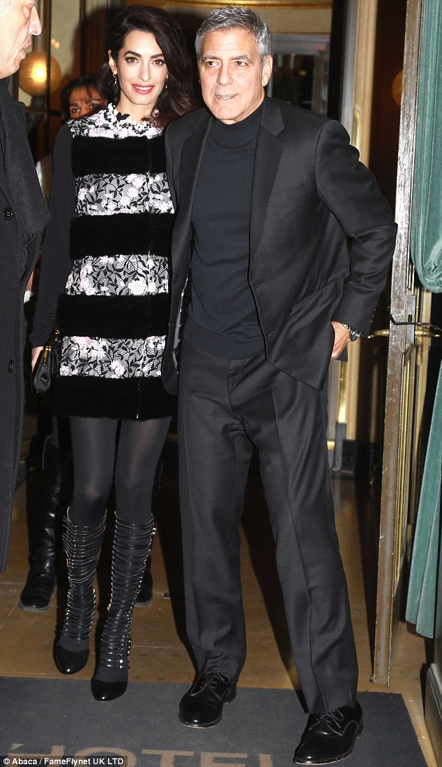 The Night After the Cesars 2017: George and Amal in Paris 3DACF86D00000578-0-image-m-2_1488063909029