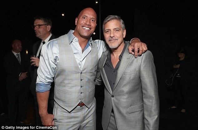 George Clooney at CinemaCon presenting Suburbicon 3EB9C6D600000578-4359344-image-m-6_1490773230162