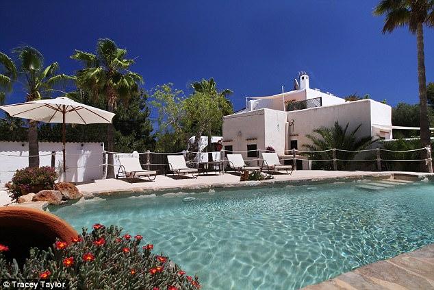 Amal Clooney's makeup artist reveals Ibiza villa 3FCDC14C00000578-4462386-image-a-56_1493652633437