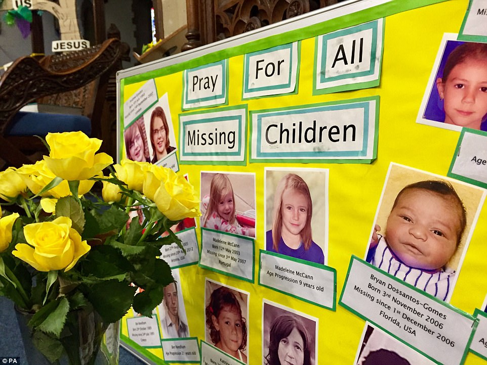 Mccanns join villagers at church today 3FE7A00E00000578-4470752-Tributes_inside_Rothley_Parish_Church_Leicestershire_which_also_-a-19_1493835674923