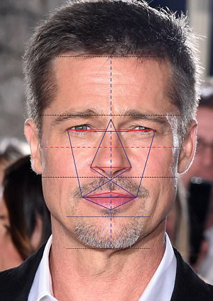 It's official! Scientific research confirms that George Clooney DOES have the world's most handsome face (and Bradley Cooper and Brad Pitt's 42BA0EC600000578-4734768-image-a-6_1501141722383