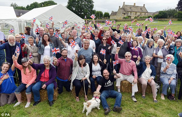 The English village that's not very English at all! How residents in a Cotswolds community have DNA from 18 different parts of the world despite 95% saying their heritage is white British   432450B400000578-4779878-image-a-14_1502398823725