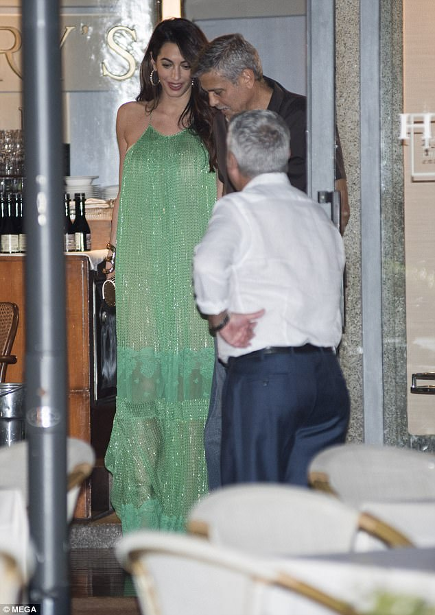 George and Amal out and about at Harry's Bar in Cernobbio 436C4C7400000578-4808394-Date_night_The_39_year_old_barrister_and_her_56_year_old_movie_s-a-3_1503386439916