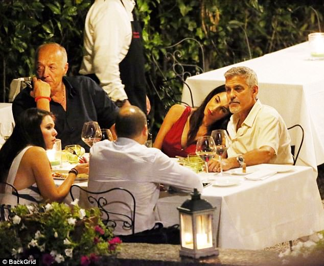 The Clooneys (and Gio!) out for dinner  4378013900000578-0-image-a-2_1503426258216