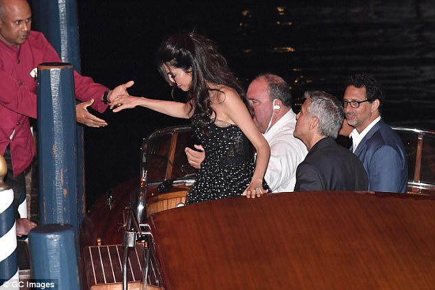 George and Amal in Venice 43C3069700000578-4841936-image-a-61_1504212144448