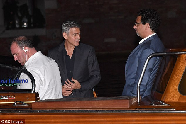George and Amal in Venice 43C3067900000578-4841936-image-a-101_1504213865977