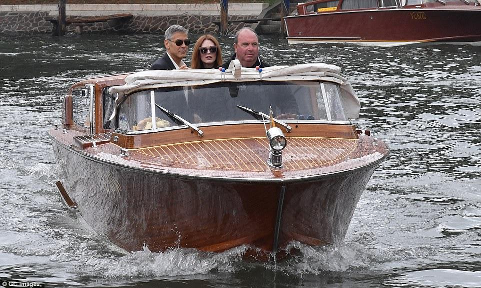 George and the Suburbicon cast in Venice 43C7706000000578-4843716-image-m-155_1504263235141
