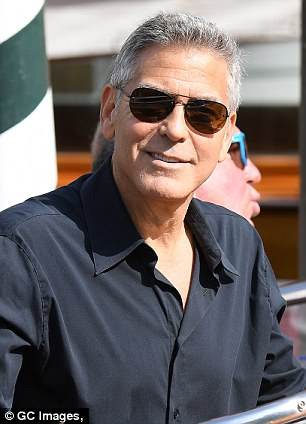 George and Amal and party at Da Ivo Venice tonight 43D0D06800000578-4846262-image-m-31_1504347332864